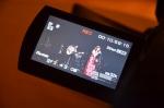 the live-stream camera - picking up Natalia